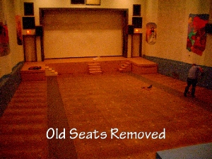 Old Seats Removed